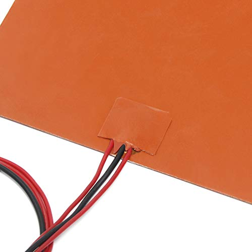 Signswise 200x200mm 12v 150w Silicone Rubber Heating Heater for 3d Printer Heated Beds