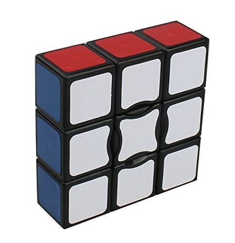 GoodCube New Black 1x3x3 Magic cube Floppy 1x3x3 Magic cube black Spuer 133 Speed cube