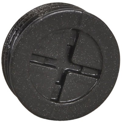 Hubbell Electrical Products PT-50-AL-BR Bronze 1/2-Inch Closure Plugs, 3-Pack - Quantity 100 by Hubbell Electrical