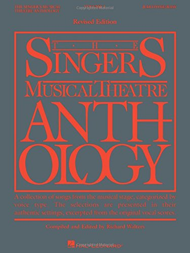 sical Theatre Anthology - Volume 1: Baritone/Bass Book Only (Singer's Musical Theatre Anthology (Songbooks)) (Bass 1 Songbook)