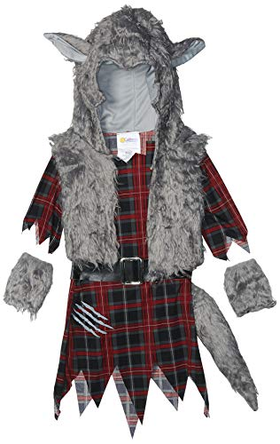 Werewolf Girl Girls Costume Red/Gray