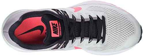 Zoom Structure 21 Nike Air 009 Grey Femme W Chaussures Hot Barely Multicolore Atmosphere Grey de Punch Running qwFwxCf