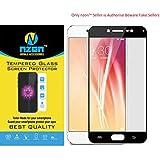 nzon Tempered Glass for Vivo V5s (Black)