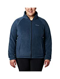 Columbia Womens Petite-Plus-Size Benton Springs Full Zip