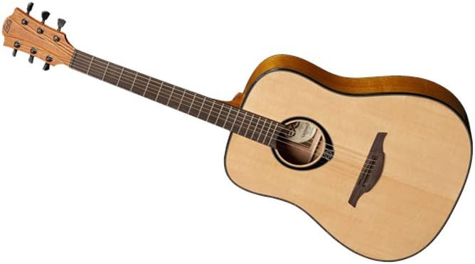 GUITARRA ACUSTICA LAG DREADNOUGHT T66 ZURDOS TL66D: Amazon.es ...