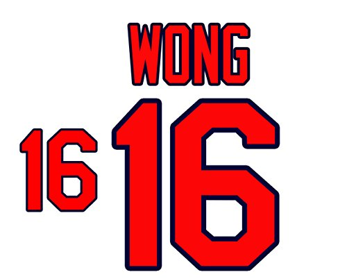 (Kolten Wong St. Louis Cardinals Jersey Number Kit, Authentic Home Jersey Any Name or Number Available)