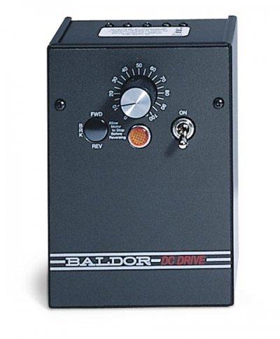 - Baldor Electric, BC139, 0-180VDC, 0.75 HP, Nema 1, DC Drive