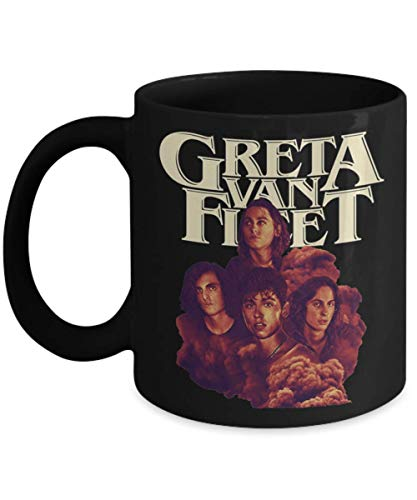 The Greta Mule, Govt Van Fleet Zeppelin Plant Led Robert Coffee Mugs, Great Gift for Father's day, Mother's day, Birthday, Christmas, music, pop, tour