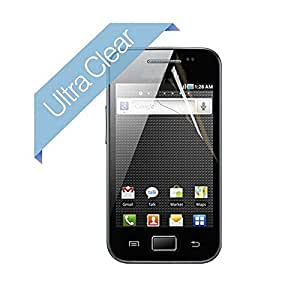 New Clear LCD Screen Protector for Samsung Galaxy Ace S5830 Guard Cover Film Retail Packaging---0154