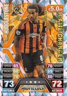 Match Attax Extra 2013/2014 Tom Huddlestone Game Changer 13/14 Topps