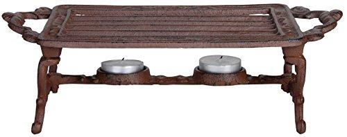 Esschert Design USA Cast Iron Heating Plate