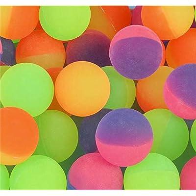 Rhode Island Novelty 38mm 1.5 Inch Icy Bounce Balls, One Dozen: Toys & Games