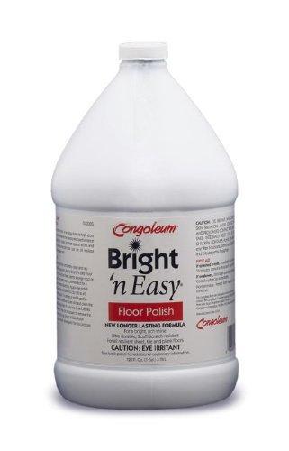 Congoleum Bright 'N Easy Floor Polish (High-gloss), Gallon by Congoleum