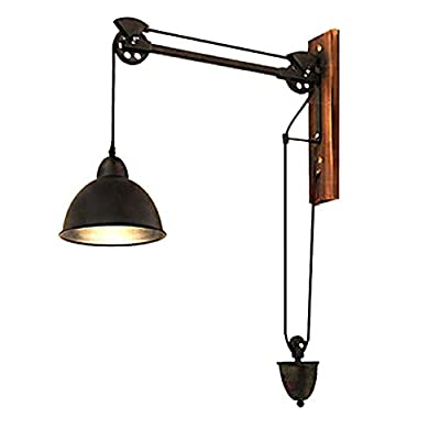 Antique Vintage Wall Sconce Industrial Wall Light 60W Wall Lamp Swing Arm Wall Lamp Retro Loft Sconce Decoration E27/E26 for living room/restaurant, kitchen/bedroom/bar and coffee shop