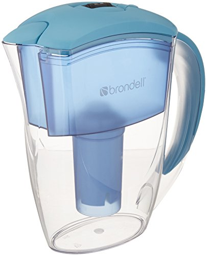 Brondell H2O+ Water Pitcher Filter (Blue), WQA Gold Seal Certified