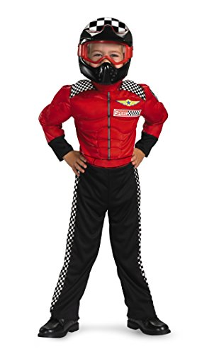 Turbo Racer Toddler Costume, 3T-4T ()