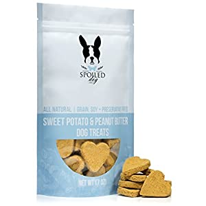 Spoiled Dog Sweet Potato & Peanut Butter Dog Treats