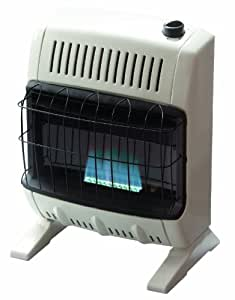 Mr heater 10 000 btu natural gas blue flame for Heating options for homes without gas
