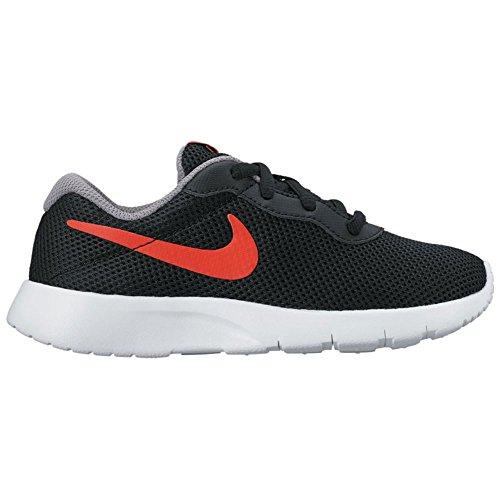 Nike Nike tanjun (PS)–Black/max Naranja de Cool Grey de WHI