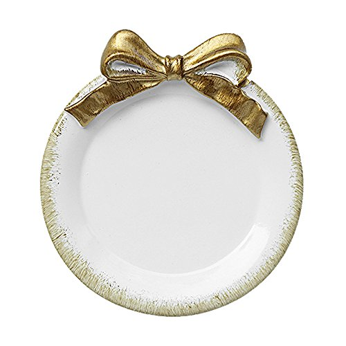 (European Vintage Girl Style Ceramic Bow Tie Square Jewelry Tray Trinket Dish Ring Holder with Gold Spray Glaze Crafts Earring Box Necklace Storage Stand Display Home Decor Wedding Gift Pink,Mint)