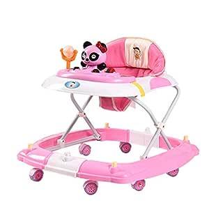 Baby Walkers Música Andador para bebé, Plegable y Regulable en ...