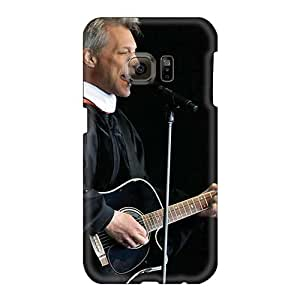 Samsung Galaxy S6 Ggt7276oDJL Customized Lifelike Bon Jovi Band Skin Durable Hard Cell-phone Case -CristinaKlengenberg