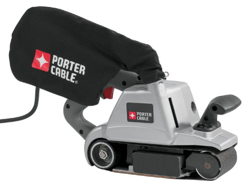 PORTER-CABLE 360 12 Amp 3-Inch by 24-Inch Belt Sander with Cloth Dust Bag by PORTER-CABLE
