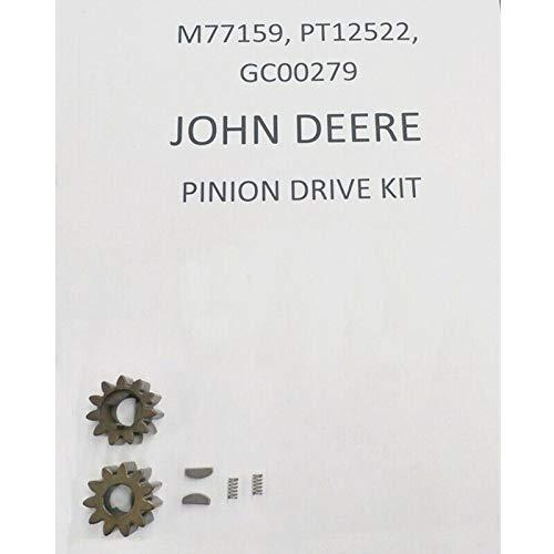 John Deere walk behind pinion set M77159 PT12522 GC00279 14sb JX75 by John Deere
