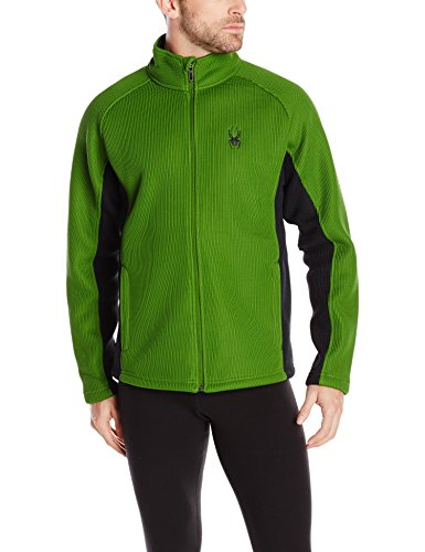Spyder Men's Foremost Full Zip Jacket, Mountain Top, Large