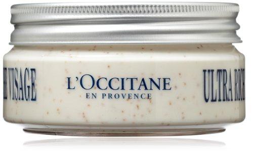L'Occitane Shea Ultra Rich Exfoliant Visage, 3,40 once liquide