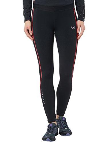 Ultrasport Advanced dames sportbroek, lange hardloopbroek met compressiewerking, Quick Dry, contrast-/platte naden…
