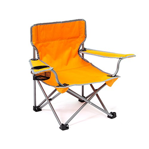 Kids Folding Camp Chair - Just their size (Orange)