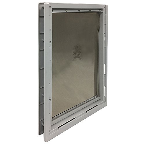 Ideal Pet Products Designer Series Plastic Pet Door with Telescoping Frame, Super Large, 15