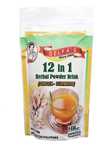 Turmeric 12 in 1 Herbal Powder Drink (150 Grams) by AR3J_Enterprises (Herbal Pandan Supplement)