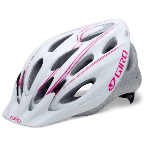 (2013 Giro Womens Skyla Helmet White / Magenta Uni)