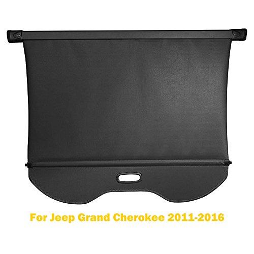 AUXMART Cargo Cover for Ford Escape 2013~2016 Tonneau Cargo Rear Trunk Retractable Shielding (Ford Explorer Cargo Cover)