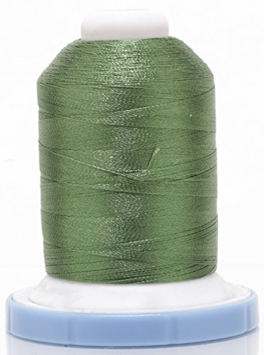 OPW Machine Embroidery Thread with Matching Bobbin (ASPARAGUS) - Free Bonus Embroidery ()