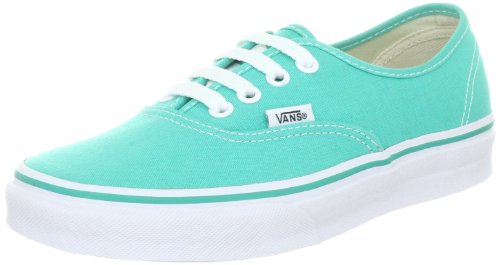 Vans Authentic VQER6LK, Baskets mode mixte adulte Vert (Grün)
