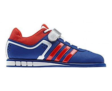 hot sale online 45125 6c2f9 Image Unavailable. Image not available for. Color adidas Mens Powerlift  Trainer 2 Weightlifting Shoes - Pride inkRed ...