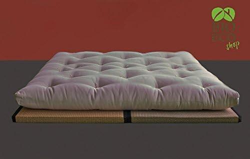BIOECOSHOP futón ecológica de Capas de algodón orgánico ...