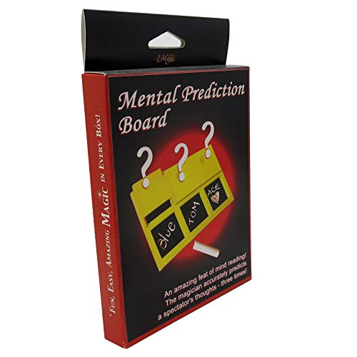 Trick Mind Reading (Royal Magic Mental Prediction Board From Three Examples of Mind Reading in One!)
