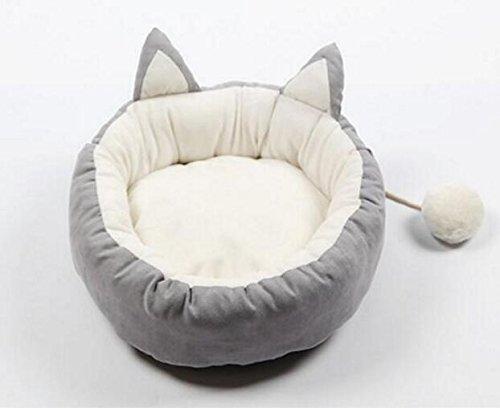 negozio outlet Happy- little -bear Estate Rimovibile e Lavabile Cute Cute Cute Hair Ball Kennel Cat Nest fornisce Grigio  vendita online