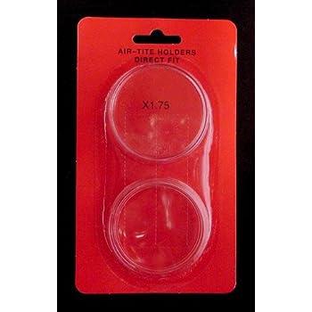 AirTite Direct Fit 43.6mm Casino $10 Silver Strike Round Coin Capsule X43.6