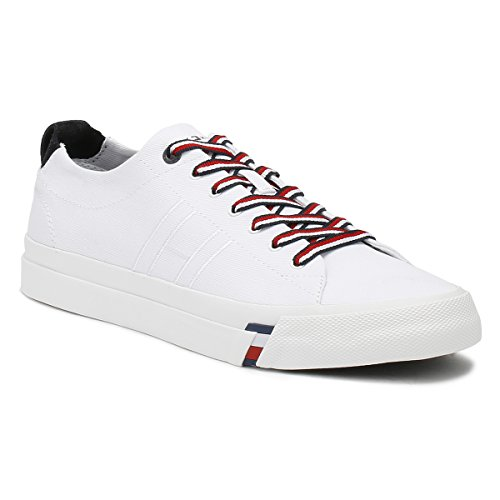 Tommy Hilfiger Hombres Blanco Dino 1D Zapatillas