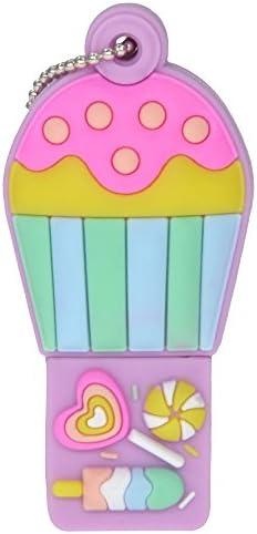 Uflatek 16 GB USB 3.0 Flash Drive Hot Air Balloon Memory Stick Silicone Thumb Drive Cartoon Pen Drive Colorful Jump Drive External Data Storage Funny Gift