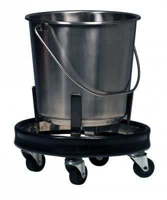 Graham-Field 3267 Stainless Steel Kick Bucket and Stand Set, 11-5/8