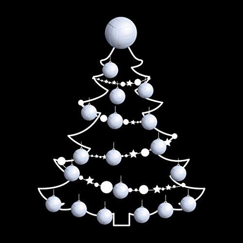 Christmas Sweatshirt Baubles Black Soccer Women's Tree Coto7 Ball xqCv8wEU