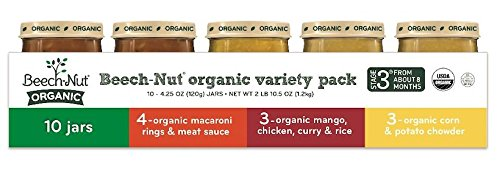 Beech-Nut Organic Variety Pack Stage 3 (10 Count)