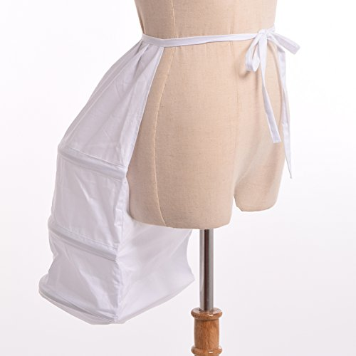 BLESSUME Victorian Dress Bustle White One size Photo #5