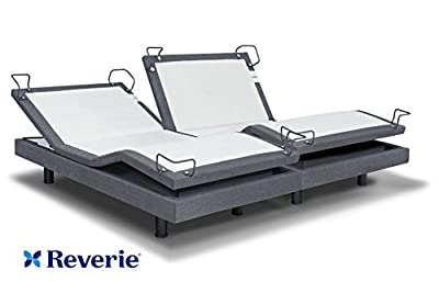 Reverie 7S Adjustable Bed From The Makers Of The Tempurpedic Ergo W/Bluetooth Option (Split King)